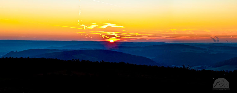 Sonnenaufgang am Sodenberg